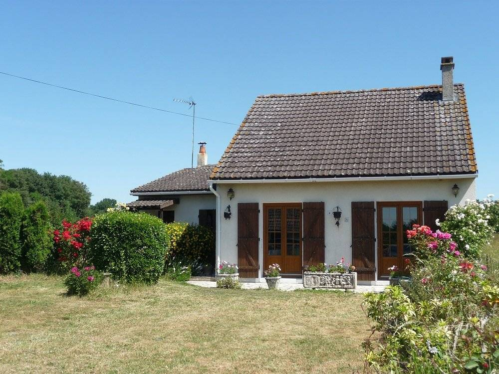 Pavillon, 2 chambres, jardin.